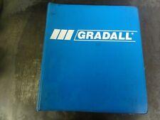 Gradall 532c 534c Material Handler Parts Manual 9112 4051