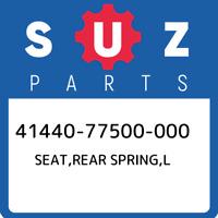 41440-77500-000 Suzuki Seat,rear spring,l 4144077500000, New Genuine OEM Part
