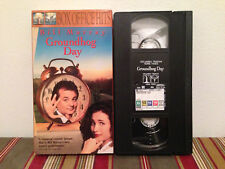 Groundhog Day (VHS, 2000, Box Office Hits Collection) Tape & sleeve