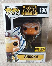 Funko Pop! Ahsoka Tano # 130 Star Wars Rebels Hot Topic Exclusive