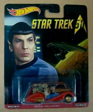 Hot Wheels STAR TREK 50th ANNIVERSARY Deco Delivery 'Spock' Real Riders Model