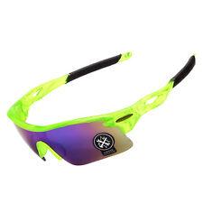 Sport Sonnenbrille Radfahrerbrille Sportbrille Rennrad Triathlon Brille X1 grün