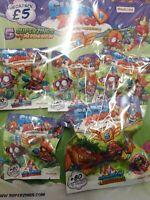 Superzings Series 5 MegaPack with 5 superzings & 1 aerowagon
