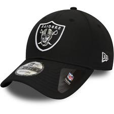 NEW ERA MENS 9FORTY BASEBALL CAP.OAKLAND RAIDERS NFL BLACK DRY SWITCH HAT 9W 95