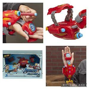 Iron Man Repulsor Blaster Toy Dart Gun Marvel Avengers Comics NERF Power Moves