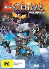 Lego Legends of Chima: Volume 6 NEW R4 DVD