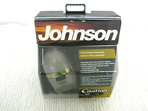NOS Johnson Citation 10 Spin Cast Crappie Fishing Reel-Still Sealed in Package