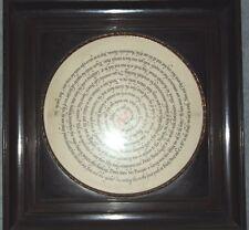BYRON MACDONALD 1954 ORIGINAL SIGNED CALLIGRAPHIC ART WORK to FRIDOLF JOHNSON