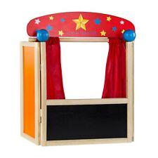 Tisch Puppentheater Theater für Puppen Puppe Kinder Bühne Kasperle Holz