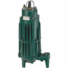 Zoeller Shark® 840-0004 - E840 2 HP Auto-Reversing Grinder Pump (230V - N...