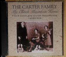 THE CARTER FAMILY MY CLINCH MOUNTAIN HOME CD