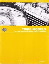 2017 Harley Trike FLHTCUTG Tri Glide Repair Service Manual Supplement 94000391