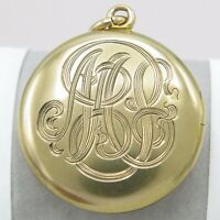 Antique Victorian 10k Gold Locket Pendant