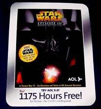 Star Wars Ep3 ROTS Burger King Promo AOL Disk Sealed