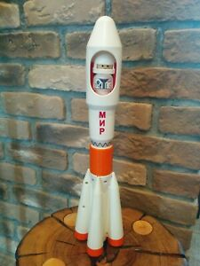 Russian Space Rocket MIR Gagarin First USSR Cosmonaut Toy Starship Astronaut