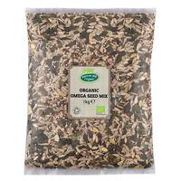 Organic Omega Seed Mix 1kg Certified Organic
