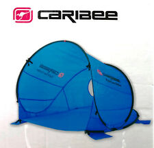 Caribee Rapid Pop Up Beach Tent Sun Shade Sun Shelter Blue UV Shelter