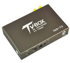 High Speed In Car External USB/HDMI/HD DVB-T2 Freeview Box MPEG2/MPEG4