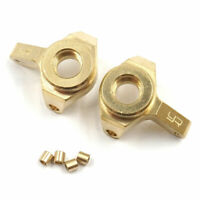 Yeah Racing AXSC-026 Brass Front Steering Knuckles Set : Axial SCX24
