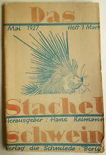 Zeitschriften, Stachelschwein Zeitschrift, Stachelschwein Hans Reimann,