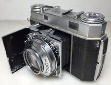 - Kodak Retina IIa 35mm Rangefinder Camera w Schneider 50mm f2 Lens