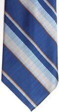 "Sears Men's Vintage Polyester Tie 54"" X 4.25"" Multi-Color American Striped"