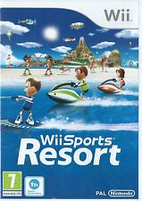 Wii SPORTS RESORT=NINTENDO Wii=CYCLING=BOWLING=TABLE TENNIS=SWORDPLAY=U