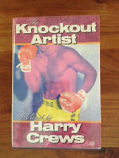 New listing The Knockout Artist Harry Crews 1st Edition 1988 Signed