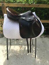 "Amerigo Pinerolo Jumping Saddle. 17"" Medium Fit"