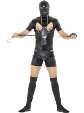 Men's Fancy Dress Bondage Gimp Costume Bodysuit Funny PVC Stag Night