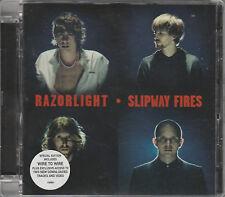 2008 - RAZORLIGHT - SLIPWAY FIRES CD ALBUM