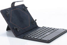 Hot!! Universal 8-9 inch Bluetooth Keyboard Leather Stand Case For PC Tablet HQ