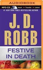 In Death: Festive in Death 39 by J. D. Robb (2015, MP3 CD, Unabridged)