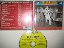 CD Eddie Bond - Memphis Country Music King Rock n Roll Rockabilly