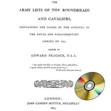The army lists of the Roundheads and Cavaliers of 1642