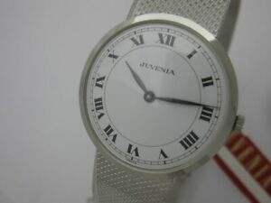 NOS NEW SPECIAL STAINLESS STEEL JUVENIA SWISS WATCH 60'