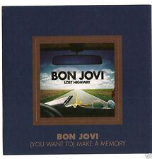 """Bon Jovi COLLECTORS SET """"Lost Highway"""" 2007: MAGNET + GUITAR PICK + CD * RARE *"""