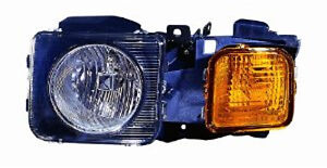 DEPO 3361116LAS Left/Driver Side Headlight Assembly 2006-2008 Hummer H3