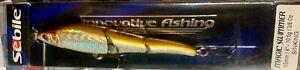 "Sebile Magic Swimmer 95mm 4"" 3/8 oz Sinking Swimbait - NF2 Hickory Shad"