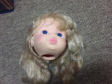 VINTAGE ORIGINAL LARGE BABY DOLL HEAD 1980's