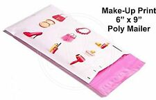 New listing (40) Makeup Beauty Print 6 x 9 Flat Poly Mailers Shipping Package Envelopes Bags