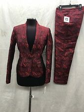 "ANNE KLIEN PANT SUIT/INSEAM 27""/NEW WITH TAG/RETAIL$249/SIZE 8/ PANTS LENGTH34"""