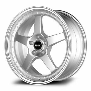 "PDXX SVFR Simmons FR1 style 20"" wheels Ford Falcon Bf Fg Staggered 5/114.3"