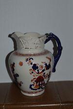 Antique SF & Co jug (Crown Devon), Indian pattern, height : 7.25''