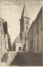 CPA -71 - CUISERY - Rue de l'Eglise