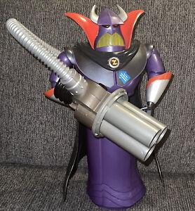 "Disney Store Exclusive Emperor ZURG Toy Story 14"" Deluxe Talking Light Up"