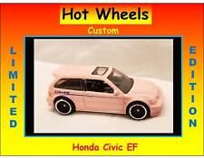 Hot Wheels Custom Pink Honda Civic EF GReddy Performance Racing