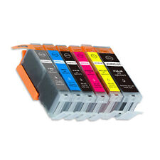 6PK Ink Cartridges plus chip for Canon 270 271 MG7700 MG7720