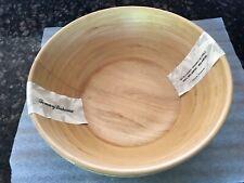 New listing New Tommy Bahama Melamine Light Wood Grain Set 2 Serving Bowls Salad/Pasta 11�
