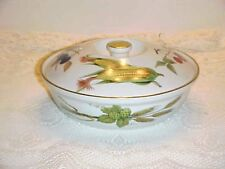 Royal Worcester  Evesham Gold Pattern  One Quart Round Casserole Gold Knob